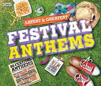 FESTIVAL ANTHEMS-LATEST & GREATEST 3 CD BOX-SET NEU THE PRODIGY/THE TROGGS