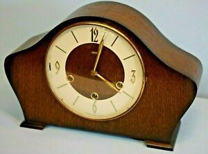 Vintage SMITHS Chiming Clock, Key Wind, 8 Day, Floating Balance, Working order.