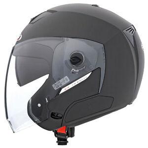 Caberg Jet Sintesi Open Face Motorcycle Helmet - Matt Black
