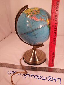 GLOWING WORLD GLOBE NIGHT LIGHT LAMP