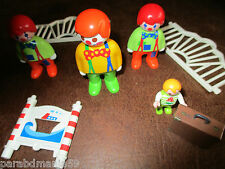Vente lot  Playmobil-Thème cirque-excellent état-Collection 1990