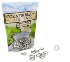 10 - Country Brook Design® 1/2 Inch Welded D-Rings