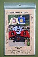 Bloomin Minds Smaller Deal applique shirt patterns Halloween Christmas Cat more