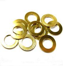 L11296 Rc De Metal Acero Arandela Oro X 10 De 10 Mm X 6mm X 1mm 10x6x1 10 Piezas