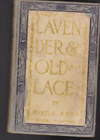 Lavender and Old Lace by Myrtle Reed HC Grosset & Dunlap Book