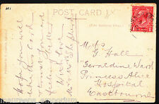 Genealogy Postcard - Family History - Hall - Princess Alice Hospital MB2787