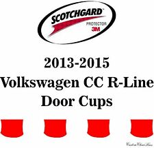 3M Scotchgard Paint Protection Film Clear 2013 2014 2015 Volkswagen CC R-Line