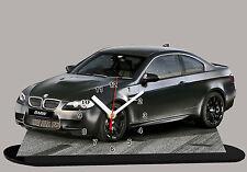 MODEL CARS, BMW M3 E92 -02-3, car passenger,11,8x 7,8 inches aluminiu with Clock