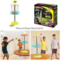 Wham-O Kids Family Frisbee Throwing Mini Golf Indoor Outdoor Target Game Set