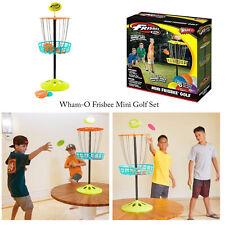 Wham-o niños familia Frisbee lanzando Mini Golf juego de destino interior al aire libre Conjunto