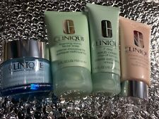 Clinique Facial Soap, Overnight Mask, 7 day scrub cream, Turnaround Overnight