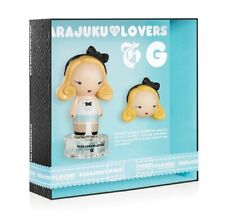 """""""G"""" by Harajuku Lovers 2 Pcs Set:0.33 oz EDT Spray+0.04 oz Solid Perfume Unboxed"""