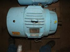 GE HIGH EFFICIENCY INDUCTION MOTOR 15 HP 460V 60HZ 1760 RPM PH 3
