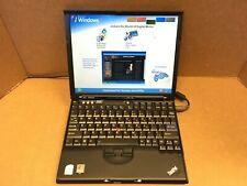 Lenovo Ibm ThinkPad X61 Laptop C2D 2.0Ghz 12.1 Lcd 3Gb Ram 120Gb Hdd Windows Xp