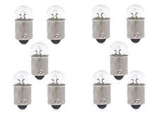 10 x T2W 12V 2W KFZ Birne Kontrollleuchte Lampe Sockel BA9s Neu/OVP +