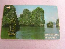 Vietnam used GPT card  17VMCA  Ha Long Bay Rocks