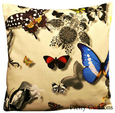 Designers Guild Christian Lacroix Butterfly Parade Daim Cushion Cover 16''