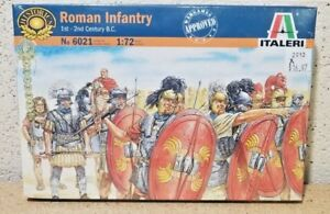 Italeri > I-II Century BC Roman Infantry 35 Figures, 1:72 Scale [6021]