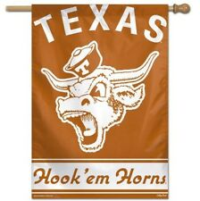 "Texas Longhorns Classic College Vault House Flag 28""X40"" Banner"