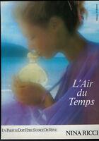 PUBLICITÉ DE PRESSE 1989 - NINA RICCI L'AIR DU TEMPS PARFUM SOURCE DE RÊVE
