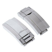 Fold Over Stainless Steel Deployment Clasp Watch Buckle Replacement Findings