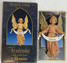 1992 Fontanini Gloria Angel Nativity Christmas Figurine Vintage Roman #52517