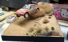 Diorama 1 43 Mitsubishi  rally su sterrato