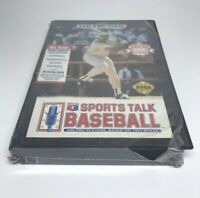 Sports Talk Baseball Sega Genesis 1992 SEALED
