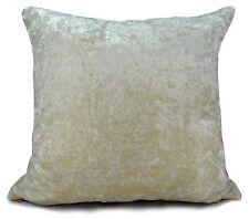 "large plain crush velvet cushion cover or cushions10 colours 20x20"" or 17x17"""