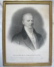 Don Juan Miguel Páez de la Cadena, Gravé par L. R. Letronne / 1èr Quart du XIXè