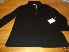 Blain & Cartwright womens LS long sleeve XS shirt NWT 100.00 black