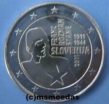 Slowenien 2 Euro Gedenkmünze 2011 Franc Rozman Euromünze commemorative coin