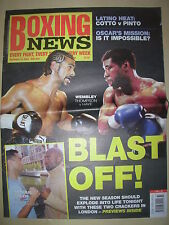 BOXING NEWS 10 SEPTEMBER 2004 DAVID HAYE v CARL THOMPSON FIGHT PREVIEW