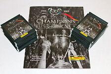 Panini CHAMPIONS OF EUROPE 2005 05 - 100 TÜTEN PACKETS BUSTINE + EMPTY ALBUM