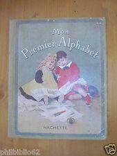MON PREMIER ALPHABET / ENFANTINA ECOLE 1931