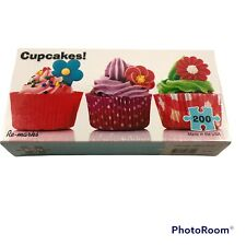 """Re-Mark's 200 Piece Cupcake Puzzle 7""""X14"""" Made in USA NEW SEALED"""