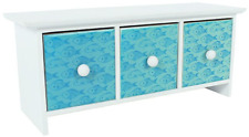 Miniature Wooden Chest of Drawers With Ceramic Tile Drawer Fronts -