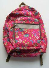 LL Bean Girls Flowers and Butterflies Backpack