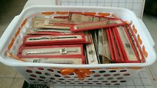 Lot of 116 New Old Stock Watch Bands  Mostly Brite and some Misc. @Look@