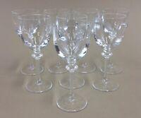 """cordial aperitif liqueur glasses 4 3/4"""" tall 2 ounces (set of 8)"""