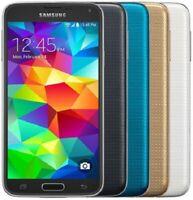 Samsung Galaxy S5 16GB - White Black Gold Blue - SM-G900A AT&T | Poor (C-Grade)