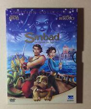 DVD Dessins Animés DreamWorks Sinbab La Légende Des Sept Mers Édition Collector