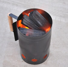BBQ Tool Rapidfire Charcoal Chimney Starter Rapid Fire Quick Coals Grill Lighter