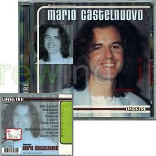 """MARIO CASTELNUOVO """"PALCOSCENICO"""" RARO CD 1998 - FUORI CATALOGO"""