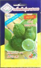 3 x 5 Seeds/Pack Kaffir Lime Seeds Herb Spice Garden Easy Planting Thai Cooking