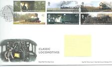 GB - FIRST DAY COVER - FDC - COMMEMS -2004- CLASSIC LOCOMOTIVES - Pmk YORK