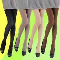 120D Footed Pantyhose Stockings Socks Solid Color Stretch Tights Sexy Women