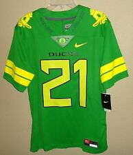 NWT MENS M NIKE OREGON DUCKS LIMITED ONCE A DUCK FOOTBALL JERSEY SEWN $150 APPLE
