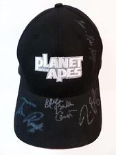 PLANET OF THE APES CAST SIGNED X6 PROMO MOVIE HAT AUTHENTIC AUTOGRAPHS RARE LOOK