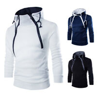 Men's Slim Fit Outwear Sweater Winter Hoodie Warm Coat Jacket Hooded Sweatshirt